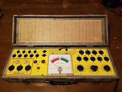 Test-O-Matic Tube Tester