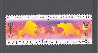 Christmas Island  1997  Year of the Ox, MNH.