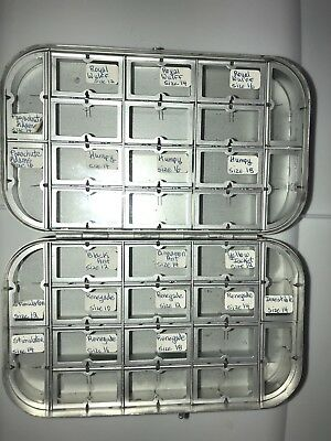 Richard Wheatley Dry Fly Box 32 Compartments