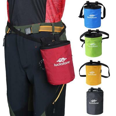 Rock Climbing Chalk Bag Magnesium Powder Pouch Spring Dancing Non-slip Waist Bag