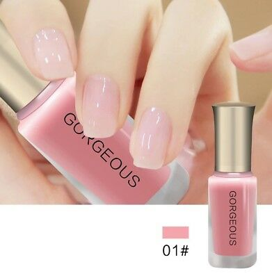 Gorgeous - Pink Nail gel, Vernis à ongle rose 10 ml
