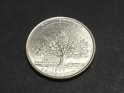 1999 US State Quarter. Connecticut.