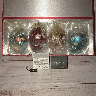 Ornate Egg Ornament Collection Joan Rivers