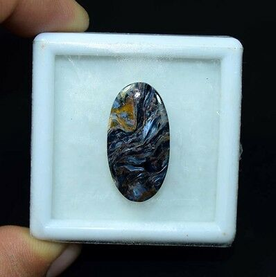 13.75 Cts. 100 % Natural Chatoyant Pietersite Oval Cabochon Loose Gemstones