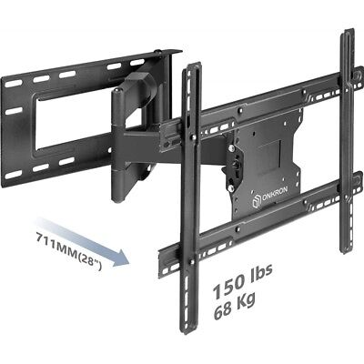 Staffa supporto porta tv a parete muro 32 40 42 46 47 50 55 60 M7L-BLK Staffa TV