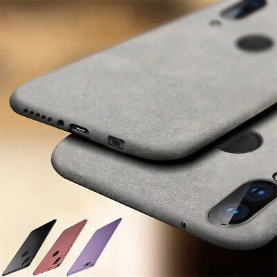 For Huawei Nova 5 5i 4 3i 3e 3 2i Shockproof Soft TPU Sandstone Matte Case Cover