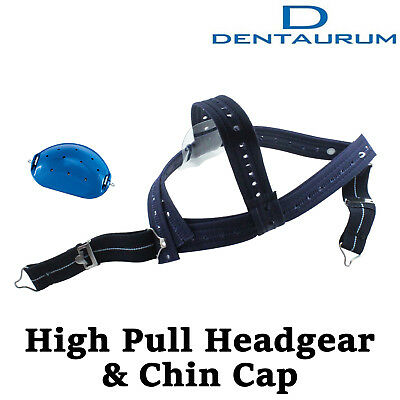 Dental Orthodontic Dentaurum High - Pull Headgear With Rigid Chin Cap