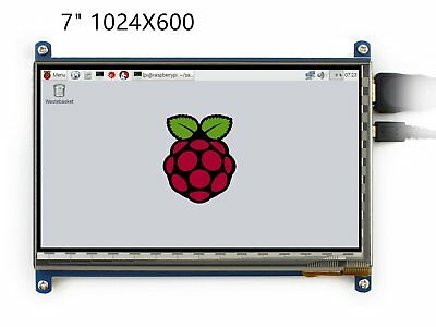 1024x600 7 inch HDMI Display Raspberry Pi LCD IPS Capacitive Touchscreen win JC