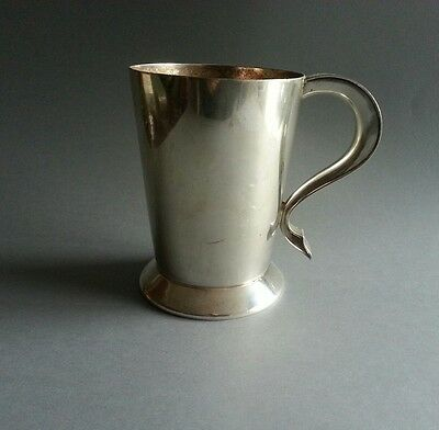 Tankard Antique Silver Plated CSG & Co