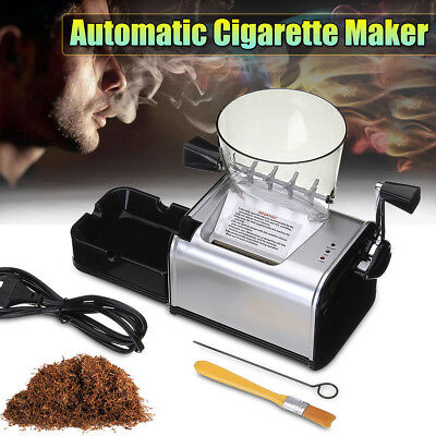 Electric Automatic Rolling Cigarette Machine Maker Inject Tube 8mm DIY Tobacco