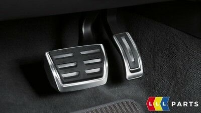 New Genuine Audi A4 A5 Q5 Stainless Steel Pedal Covers Automatic Lhd 8W1064205
