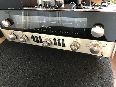 McIntosh Mx110z Mx110 Tube Preamplifier / Tuner original box seviced