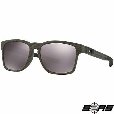 da82f99cba3 OAKLEY POLARIZED LATCH Sunglasses Woodgrain Frame Prizm Daily ...