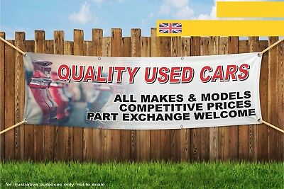 Quality Used Cars For Sale All Makes Models Heavy Duty PVC Banner Sign 3627
