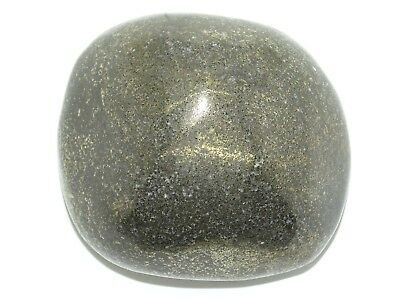 """Jumbo 2.8"""" Healer's Gold Palm Therapy Stone #e003 - Back In Stock !"""