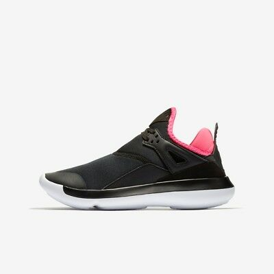new product beaa2 db902 Nike Jordan Fly  89 GG Girls Basketball Trainer Black Pink New RRP £60