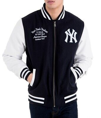 New Era Varsity College Jacke New York Yankees Post Grad Pack navy