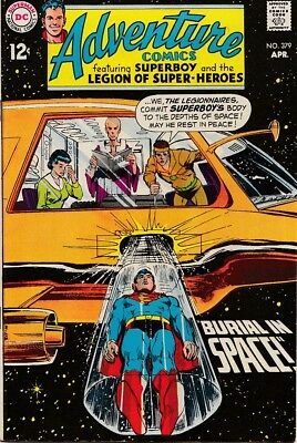 Adventure Comics 379 VF $45