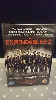 The Expendables 2 DVD (DVD, 2012) Brand New & Sealed FREE 1st class post