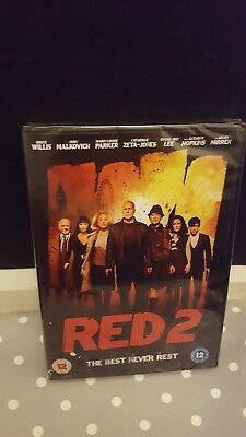 Red 2 DVD (DVD, 2013) Brand New & Sealed FREE 1st class post