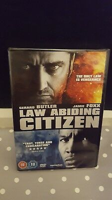 Law Abiding Citizen DVD (DVD, 2010) Brand New & Sealed FREE 1st class post