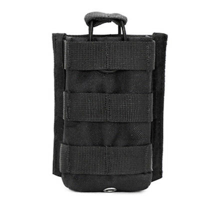 Outdoor Tactical Military Airsoft Radio Walkie Talkie Waist Belt Pouch Bag LD