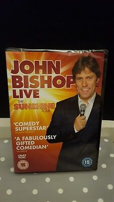 John Bishop - Live 2011 Sunshine Tour DVD Brand New & Sealed FREE 1st class post