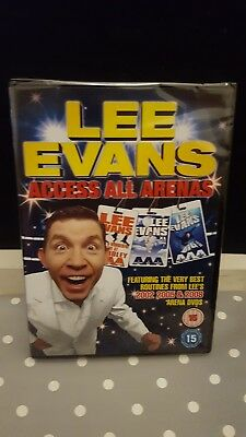 Lee Evans - Access All Arenas (DVD, 2009) Brand New & Sealed FREE 1st class post