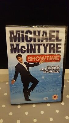 Michael Mcintyre DVD - Showtime (DVD, 2012) Brand New Sealed FREE 1st class post