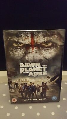 Dawn of the Planet of the Apes  DVD Brand New & Sealed FREE 1st class post