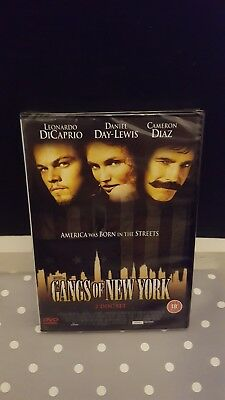 Gangs Of New York (DVD, 2003, 2-Disc Set) Brand New & Sealed FREE 1st class post