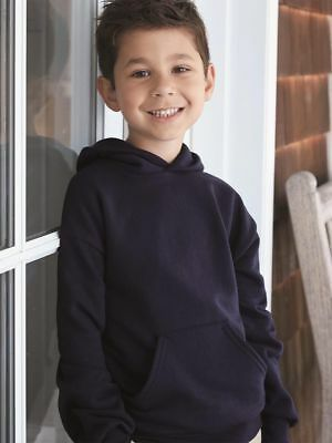 HANES Youth Comfortblend Ecosmart Pullover Hooded Sweatshirt P473-10 COLORS-NEW!