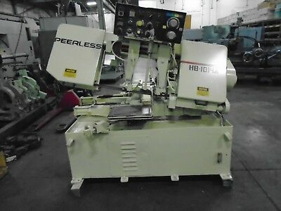 """Peerles HB1014A Fully Automatic Horizontal Band Saw 1 ¼"""" Blade"""