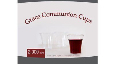 DISPOSABLE COMMUNION CUPS - Box of 100, 1-3/8