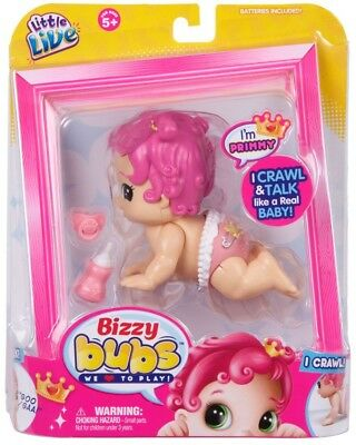 Little Live - Bizzy Bubs We Love To Play - Single Pack - Primmy