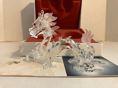 Swarovski SCS Crystal  Annual Edition 1997 Fabulous Creatures -The Dragon