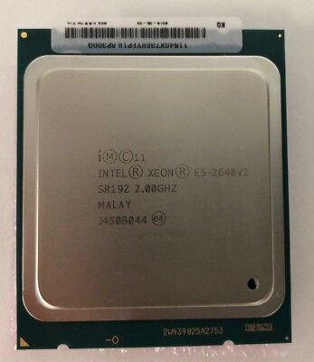 Intel Sr19Z 2.0 Ghz E5-2640 V2 8 Core 20Mb 95W Processor Sr19Z