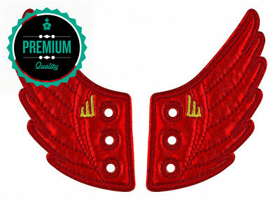 Shwings Foil Moreno Lace, Red