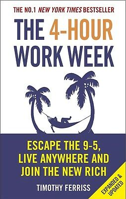 The 4 Hour Work Week by Timothy Ferriss - Paperback - Free Postage