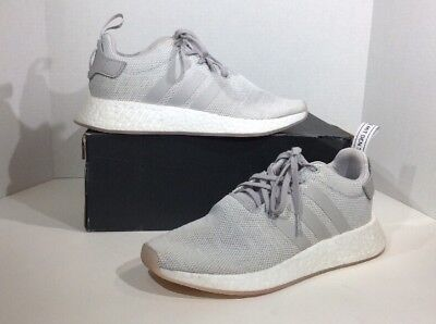 d37f4488285af Adidas NMD R2 Boost Mens Size 10 Gore Tex White Athletic Sneaker Shoes  ZU-896