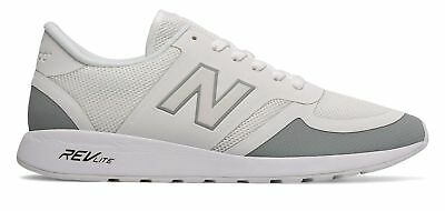 New Balance Men's 420 Re-Engineered Shoes White with Grey
