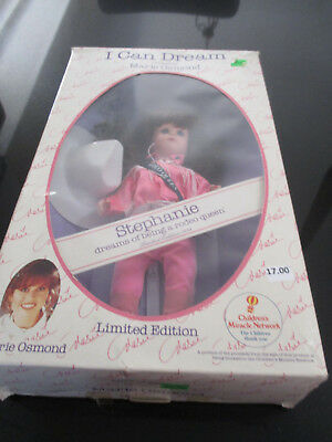 Marie Osmond I Can Dream Doll~Stephanie Rodeo Queen~Nrfb & Minty