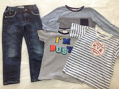 Boys clothes size 4 5 SEED jeans tops t-shirts BREAKERS