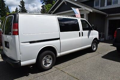 2008 Chevy Express Carpet Cleaning Van