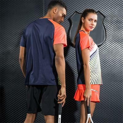 Lovers Couple Clothes Table Tennis Badminton Uniform GYM Suit Jersey &Shorts Set