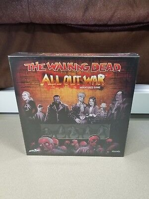 The Walking Dead: All Out War!! - Core Set - MISB - Zombie game