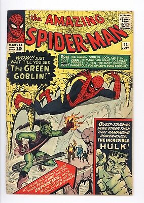 Amazing Spider-Man #14 Vol 1 Super High Grade 1st Appearance of the Green Goblin