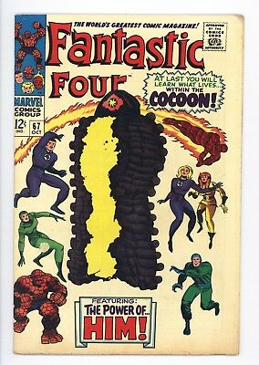 Fantastic Four #67 Vol 1 Super High Grade 1st App of HIM Adam Warlock
