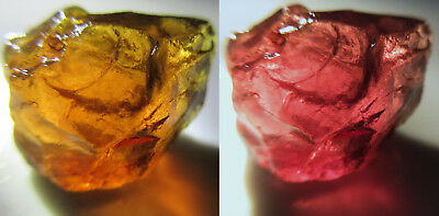 21.95 Crt Madagascar Color Change Grossular Garnet Facet Rough   G51