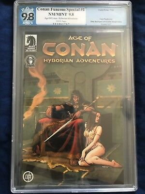 Age of Conan Hyborian Adventures #1, PGX 9.8, NM/MINT 9.8, Dark Horse 07/06
